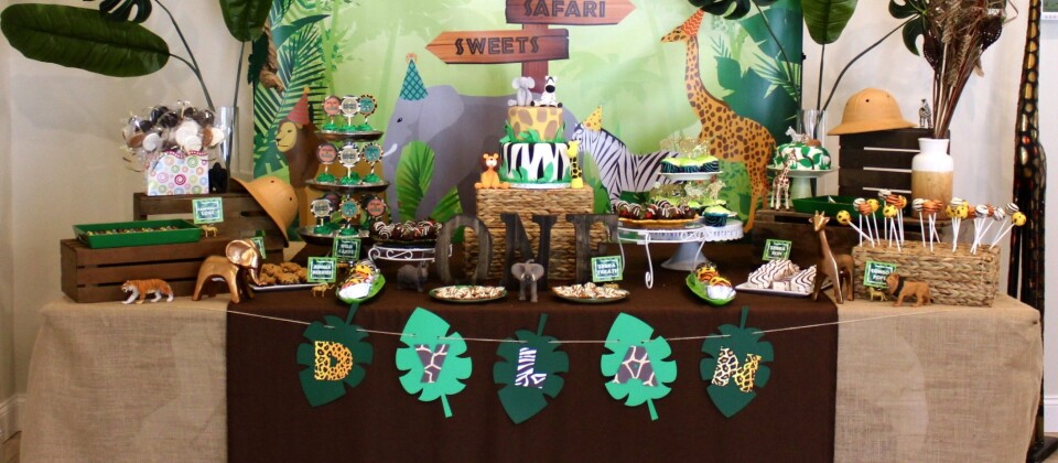 Jungle 1st Birthday